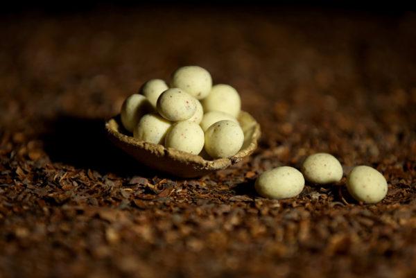 Aszalt meggy fehér csokoládéval